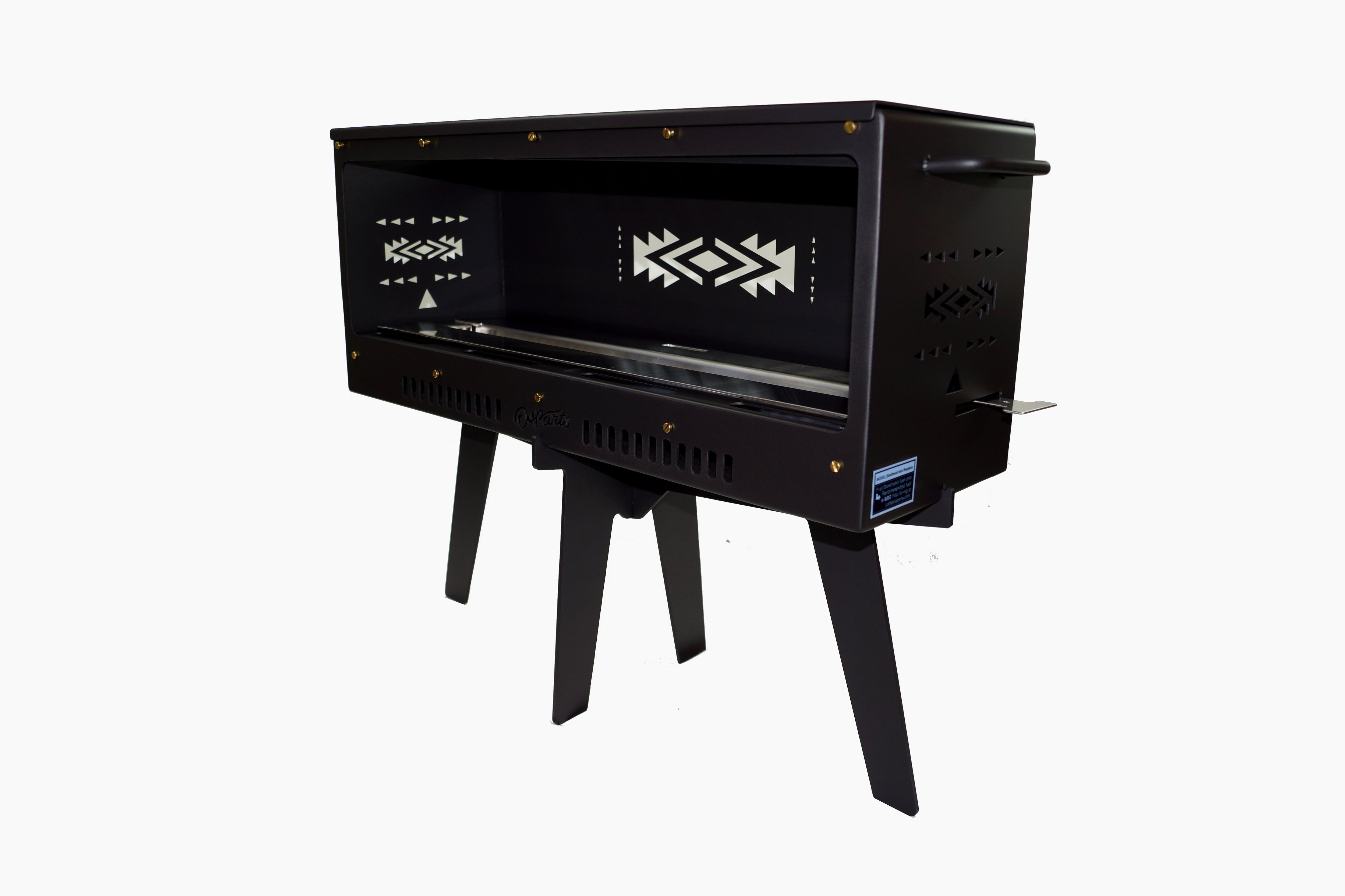 TENT暖炉【片面ガラス無し仕様】CPD4・煙突が要らない暖炉?テントの中で安全に使えるキャンプ用暖炉バイオエタノール暖炉 CAMPOOPARTS