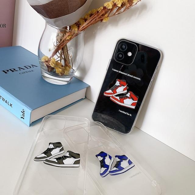 iPhone ケース 韓国 シューズデザインクリアケース 靴 メンズ レディース プリント カバー tpu PC 個性的 シンプル 大人 女性 男性 傷防止 おしゃれ オリジナル onlyou オンリーユー iPhone 7 8 SE2 X Xs XR 11 11Pro  XSmax 11Promax 12 12mini 12pro 12promax スマホケース 携帯ケース