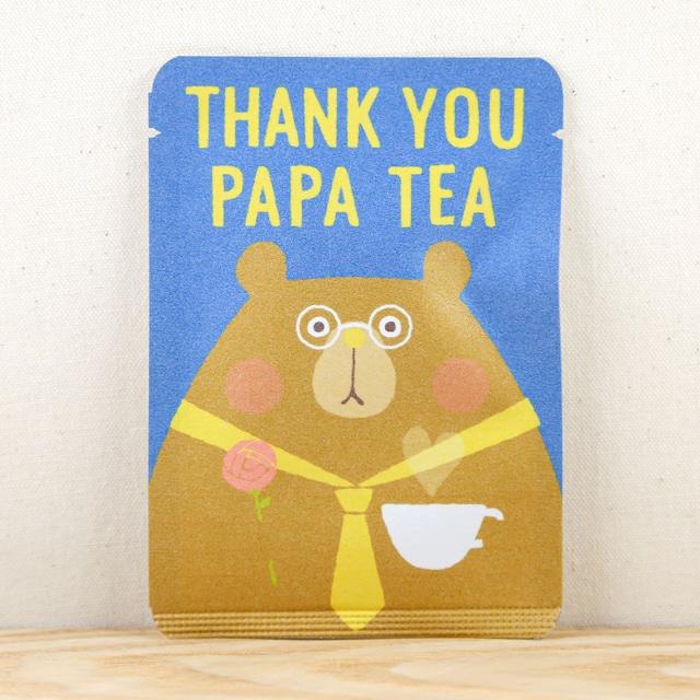 THANK YOU PAPA TEA|ごあいさつ茶|和紅茶ティーバッグ1包入り