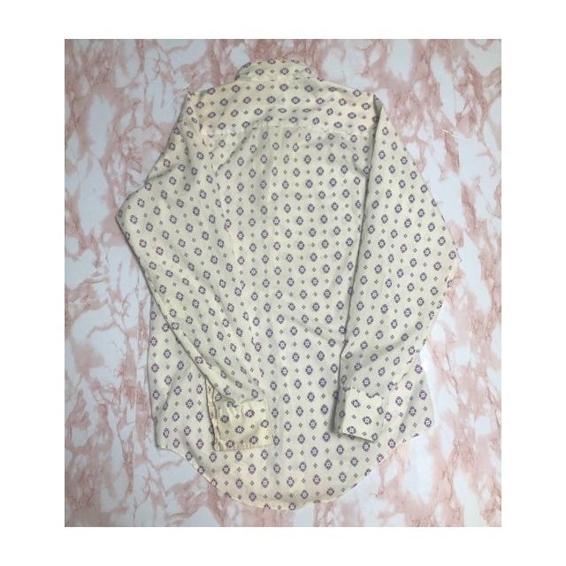 80s A&S purple pattern shirt