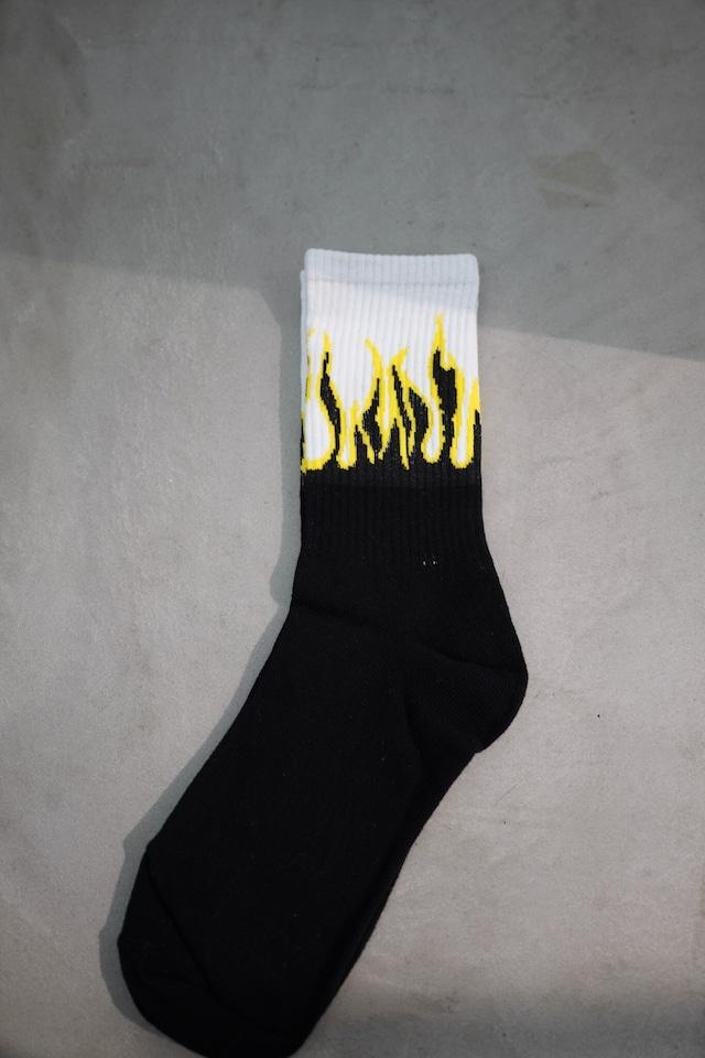 "fire  ""socks  yellow"