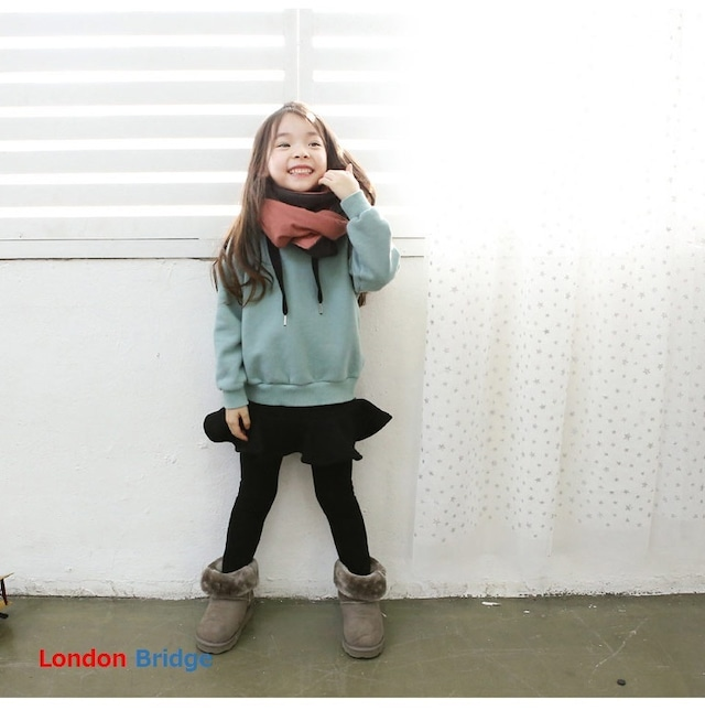 【韓国子供服☆スカート+レギンス】レギンス付きスカート スカンツ 女の子 送料無料 お出かけ