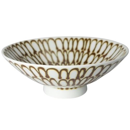 白山陶器 平茶わん Q-54