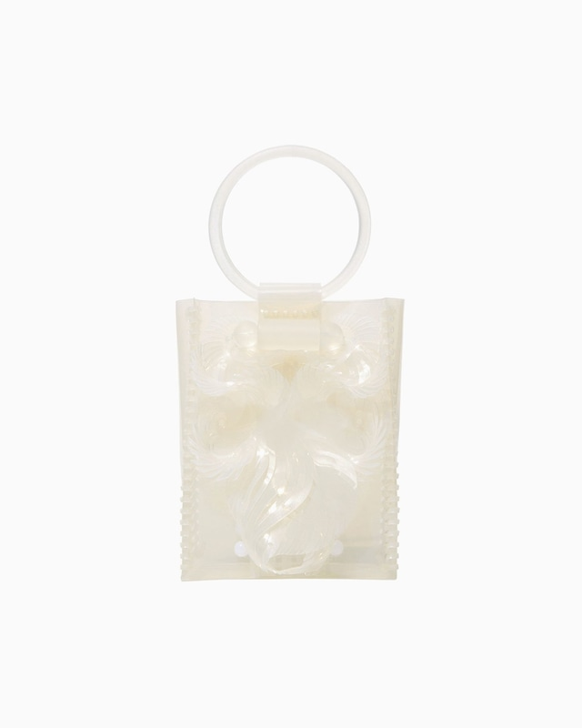 【Mame Kurogouchi】Transparent Sculptural Mini Handbag  MM-AC096