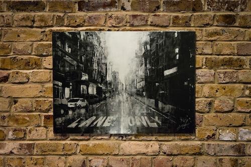 New York, city scape composition #4 (額入り特別作品)