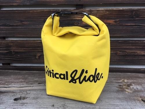 Critical Slide ROLL TOP LUNCH BAG  Yellow DRG2004