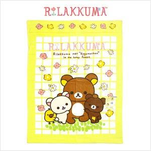 リラックマ(Rilakkuma) お昼寝ケット お花畑でごろん サイズ/(約)85×115cm タオルケット