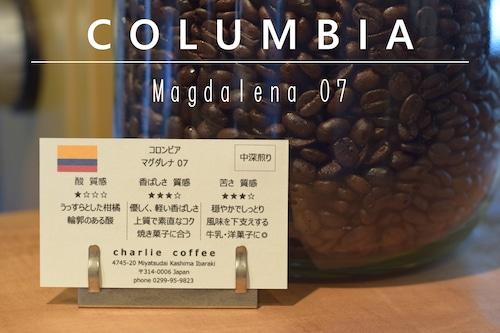 中深煎り/コロンビア マグダレナ07 100g
