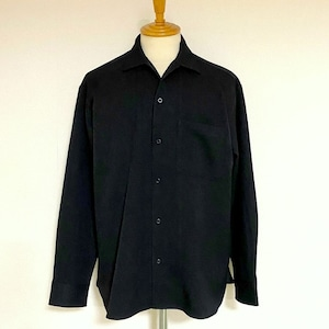 LANATEC®LEI Regular Collar Shirts Black
