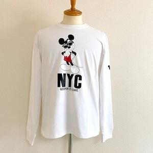 Schott/Disney T-shirts Keepin It Cool White