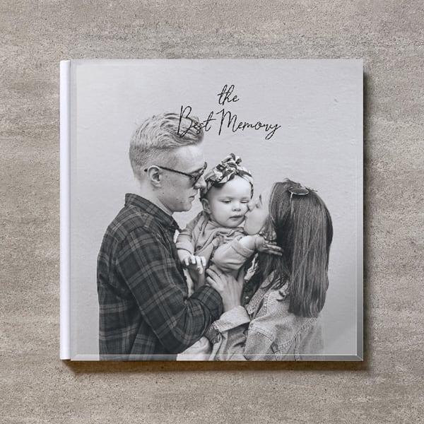 Monochrome-FAMILY_A4スクエア_6ページ/10カット_クラシックアルバム(アクリルカバー)