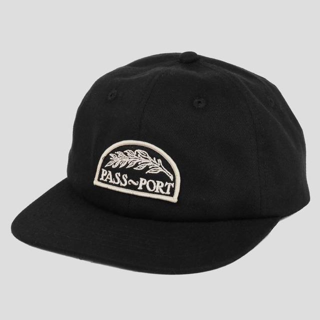 """PASS~PORT """"QUILL"""" CAP BLACK"""