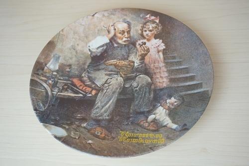 ノーマンロックウェル 絵皿(114-28)
