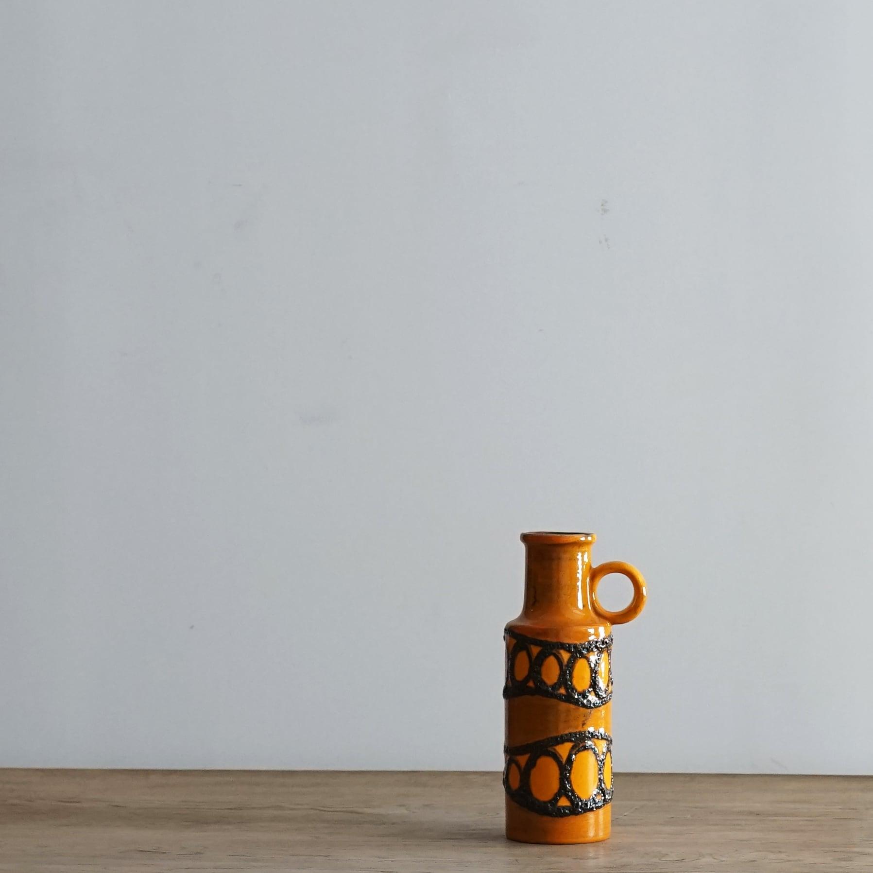 #06-01 Fat Lava Vintage flower vase