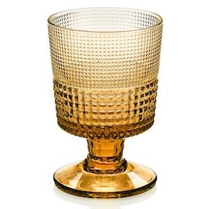 IVV  amber    Speedyゴブレット 【イタリア製ガラス食器】