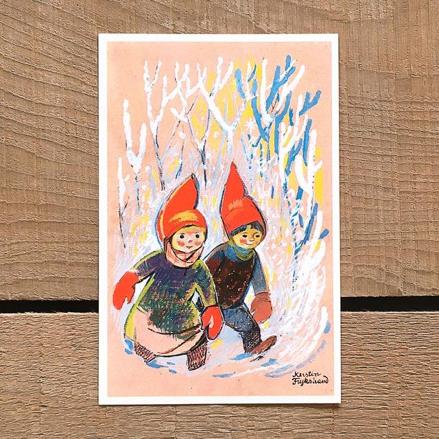 クリスマスカード「Kerstin Frykstrand(シェスティン・フリュークストランド)」《210208-04》