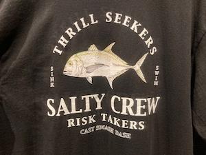 Salty Crew  GT  Black  Lサイズ 51-224