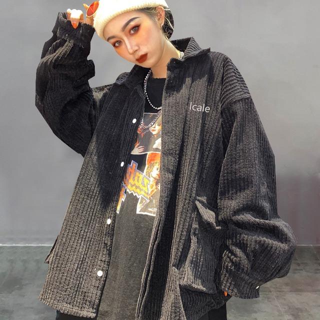 【アウター】レトロヴィンテージ加工ファッションパーカー42909745