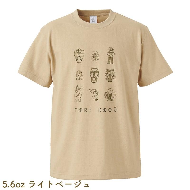 鳥土偶Tシャツ