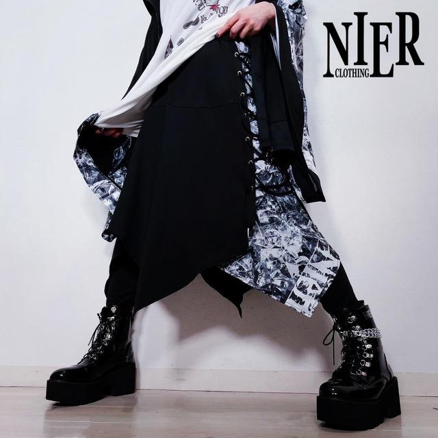 変則フラップスカート付きBRAID PANTS 【DIAMOND】