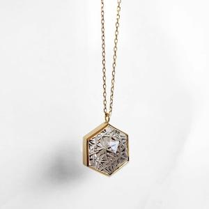 Smoky Quartz KIRIKO Necklace (Hexagon)