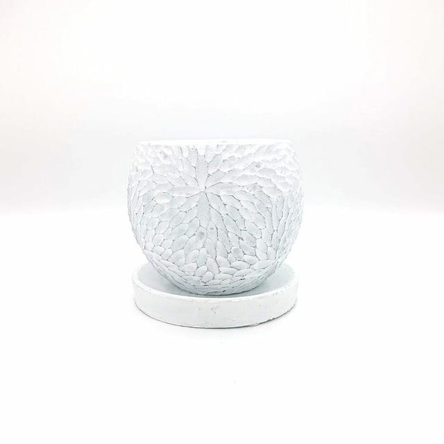 raraiuvant 陶器鉢 ホワイト SMサイズ
