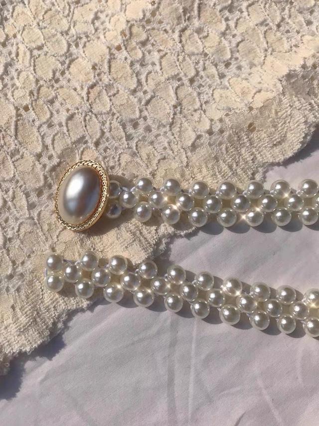 pearl narrow belt