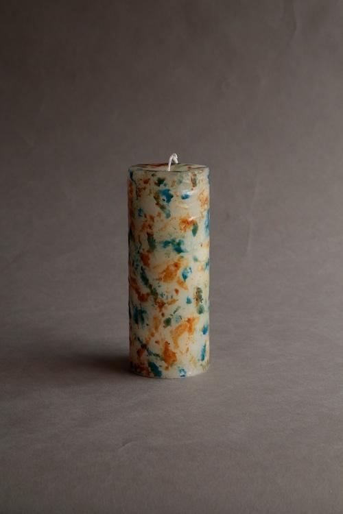 No.602 MIX (cylinder76-L-4000)  candle キャンドル