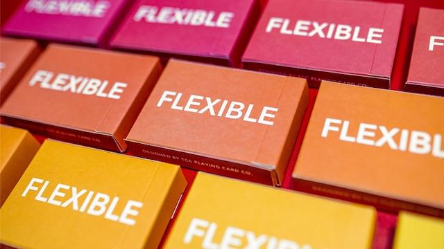 Flexible (Gradient Orange)
