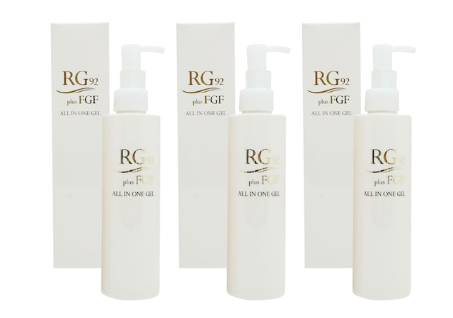 【お得な3本まとめ買い】RG92 FGF オールインワンジェル180g【送料無料】