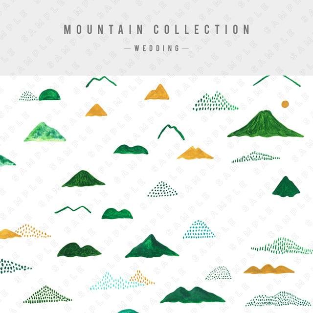 【ウェディング】MOUNTAIN COLLECTION