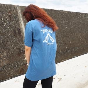 【数量限定カラー】Will×Will Forever T-shirts Indigo Blue