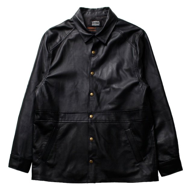 Liberal Youth Ministry Lamb leather Jacket Black