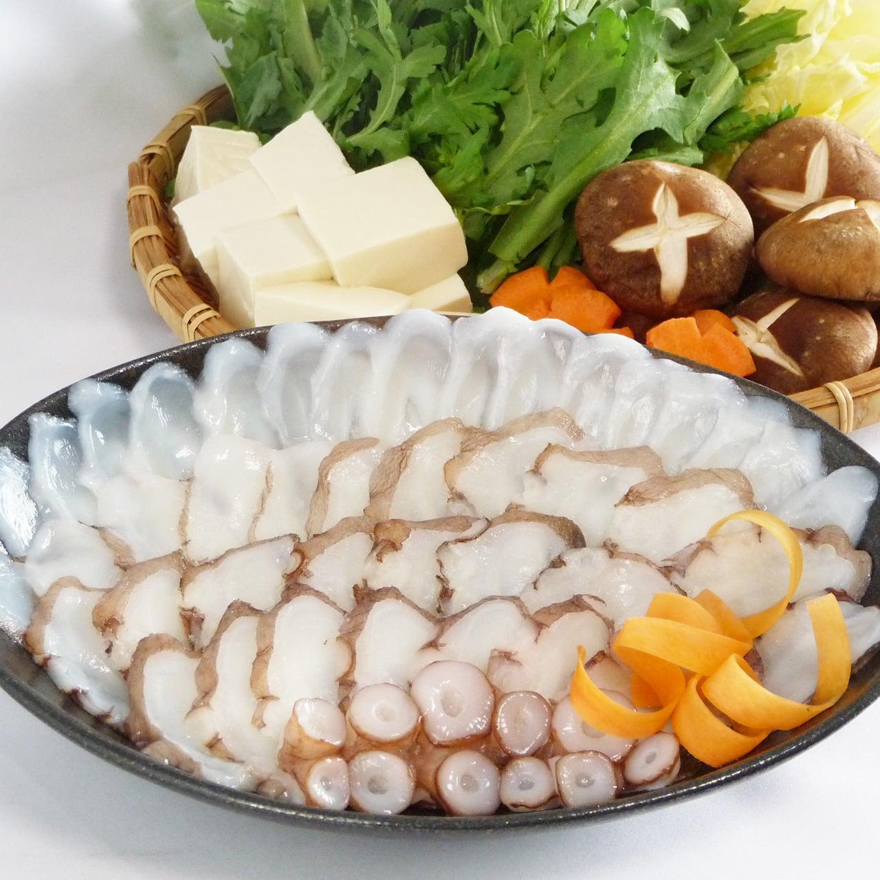 明石蛸のたこしゃぶ(3人用・210g)贈答用木箱入り【五つ星ひょうご選定品】