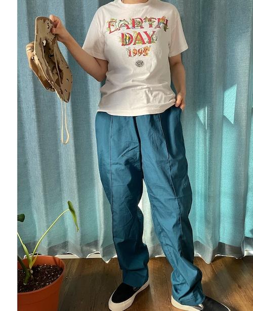EASY PANTS turquoise