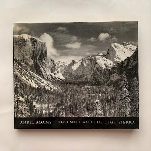 YOSEMITE AND THE HIGH SIERRA / Ansel Adams / アンセル・アダムス
