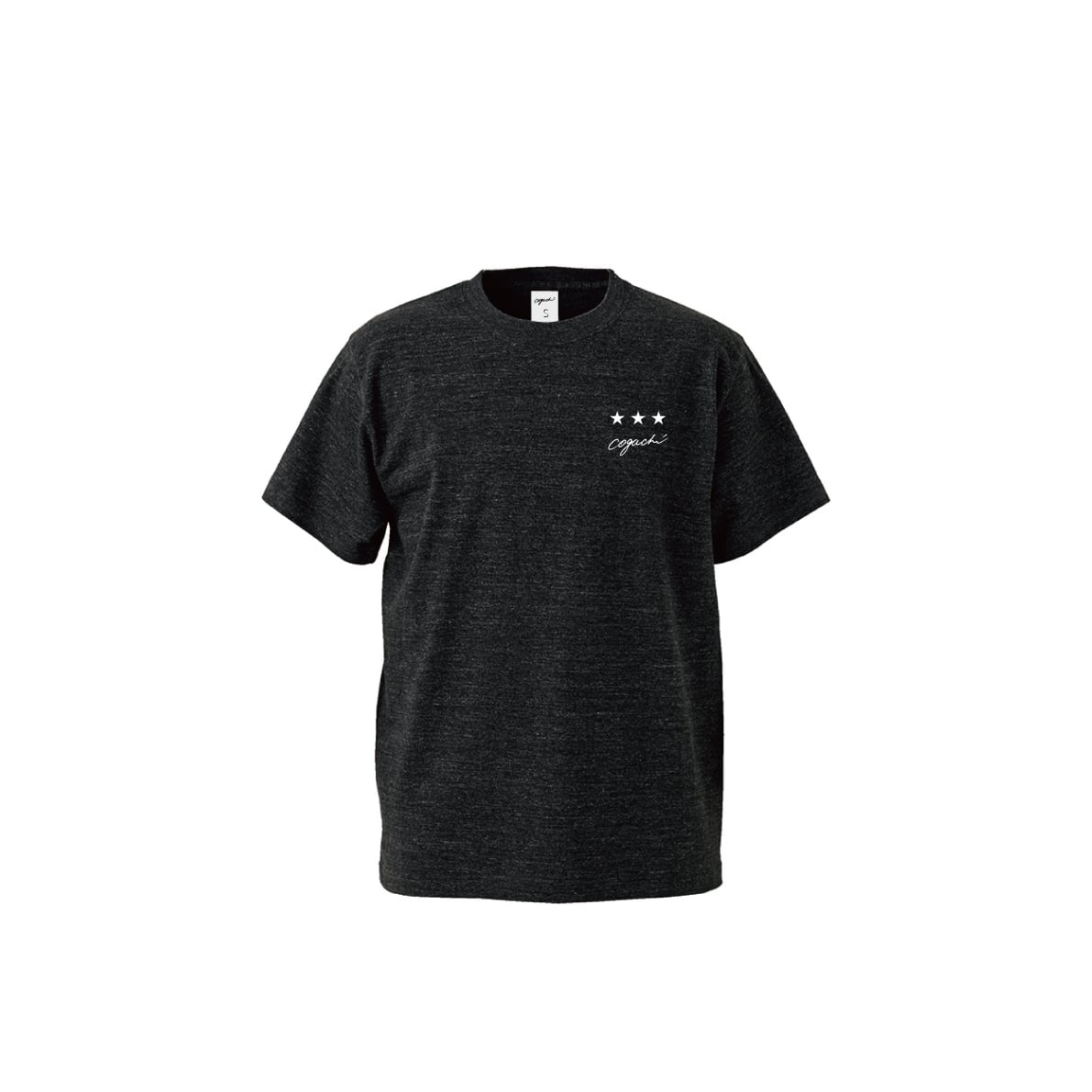 ST T-shirt(HEATHER BLACK)