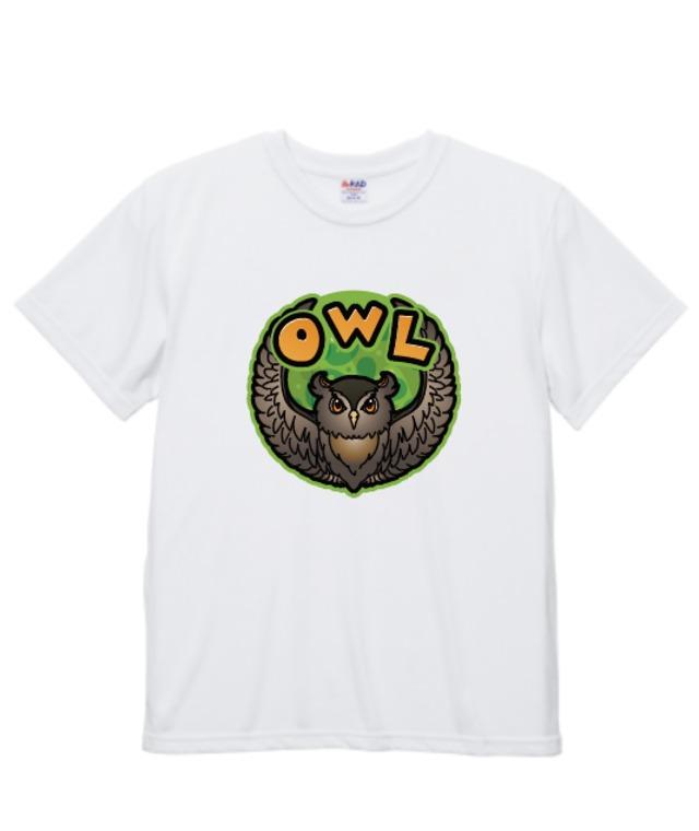 【注文締切中】OWLグループ ロゴTシャツ(コットンタッチ)