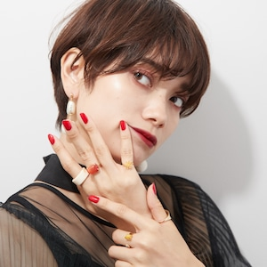 SET ITEMS || 【予約商品】 LYLA'S CANDY POP SET  (RING SET + EARRINGS) by LYLA IWAMOTO || 6 ITEMS || MIX || CSEB0904F