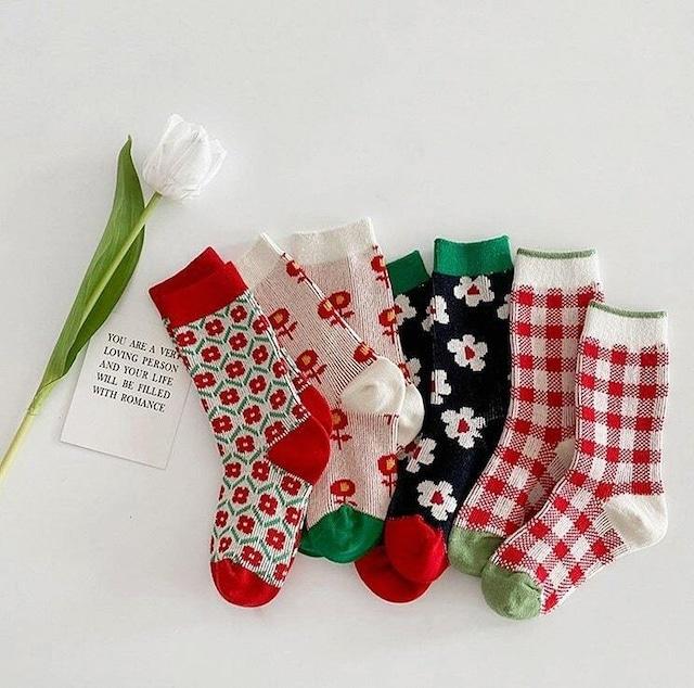 «即納/最終入荷分» various socks 4set ベアリアスソックス