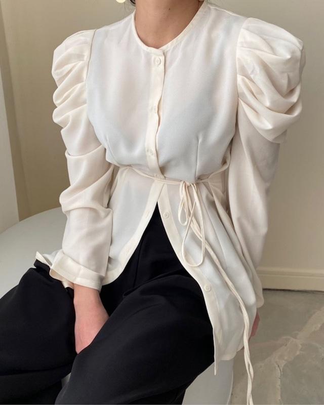 puff sleeve shirt tunic