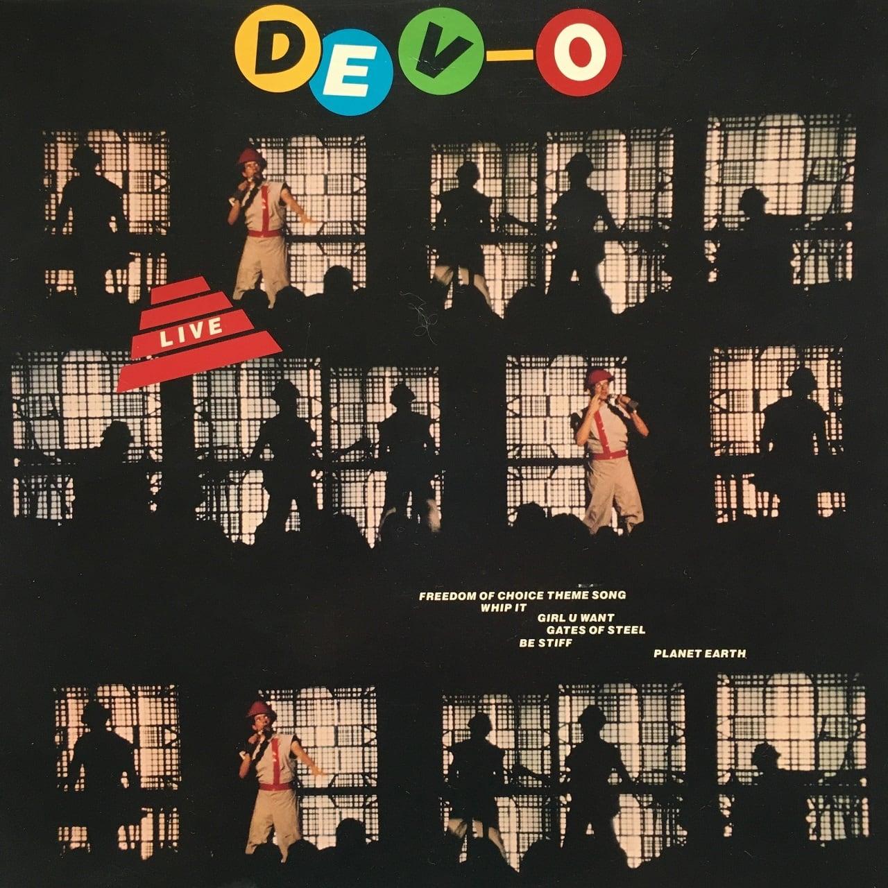 【12inch・米盤】Devo / DEV-O Live
