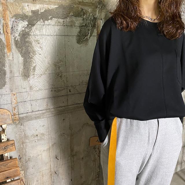 Dessin de Mode【デッサン ド モード】ドルマンTシャツ (12DPO-134M210 BLACK /SIZE:F)