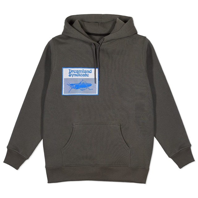 DREAMLAND SYNDICATE PATCH HOODIE GREY