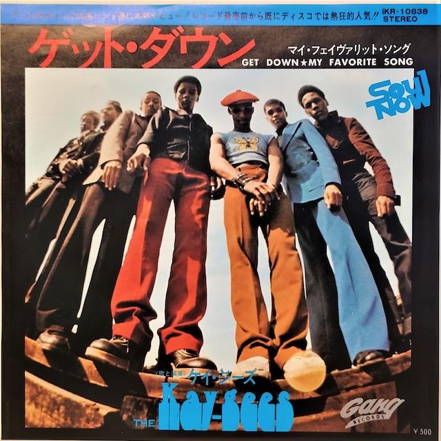 [中古7inch]  The Kay-Gees – Get Down