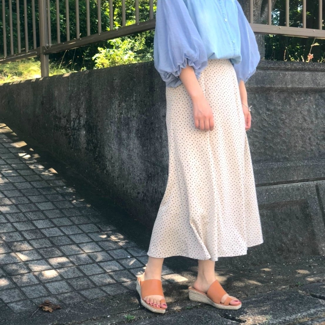 【 QTUME 】- 012-26202 - マーメイドスカート