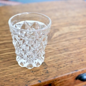 【30504】ガラスのゴブレット( 1 個)/ 昭和 / Showa Era