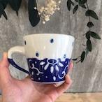 『高江洲陶磁器』 マグカップ(低)青唐草