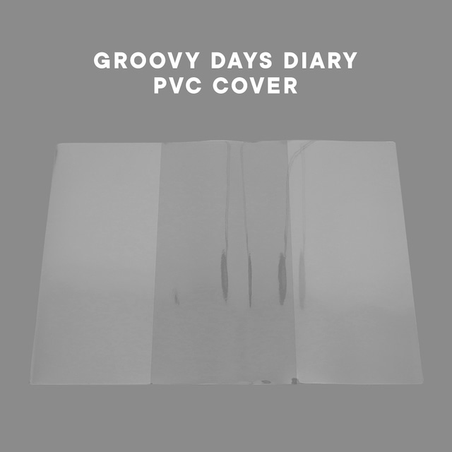 [OLD CHANNEL] GROOVY DAYS DIARY専用 PVCカバー