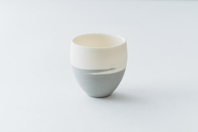 信楽透器 マーブルカップ グレー
